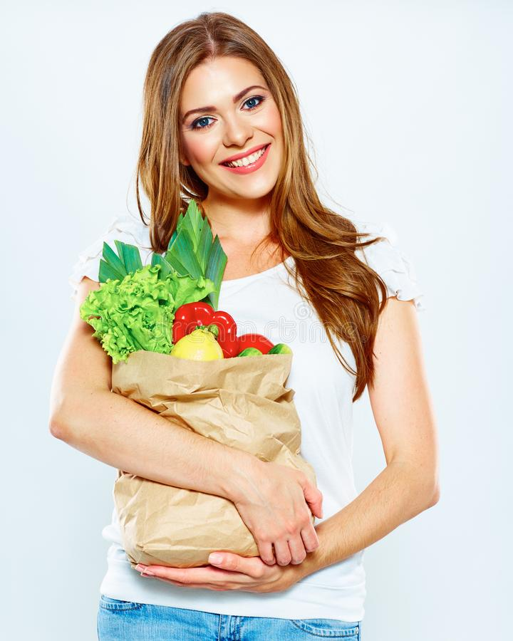 Healthy lifestyle with green vegan food royalty free stock photos