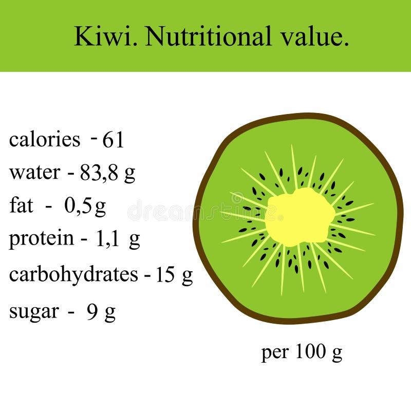 Healthy Lifestyle. Kiwi. vector illustration