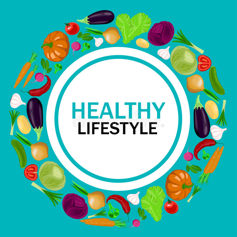 Download Healthy Lifestyle Vector Illustration. Stock Vector - Image: 83703017