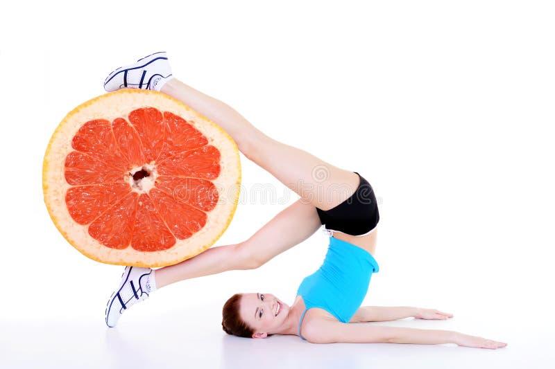 healthy lifestyle woman στοκ φωτογραφίες