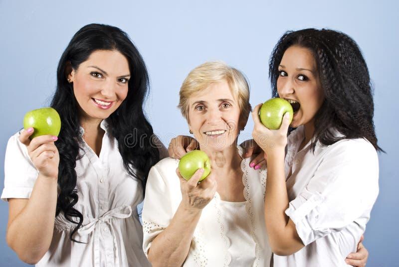 Healthy lifestyle women royalty free stock photos