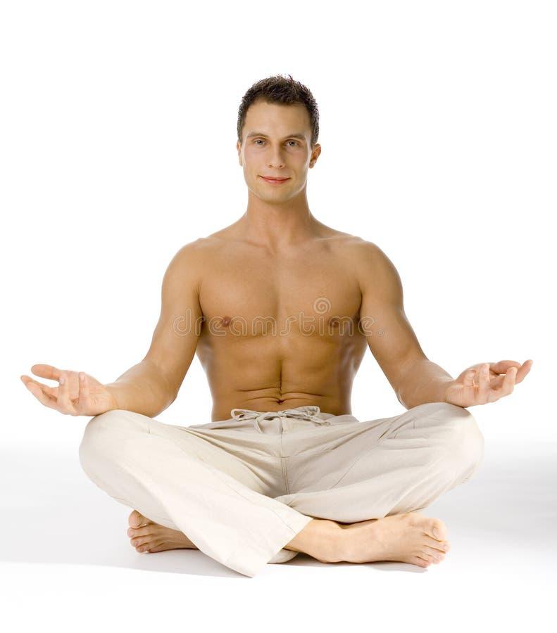 Healthy Lifestyle - Yoga royalty free stock image