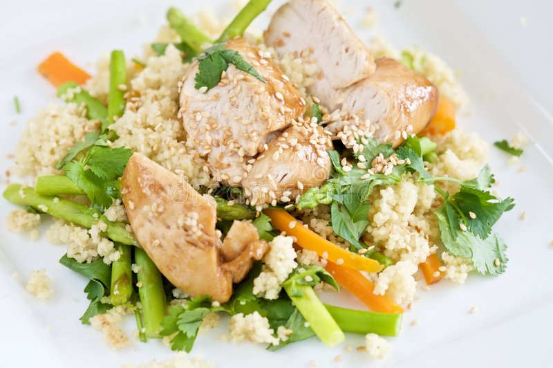 Healthy light meal royalty free stock photo