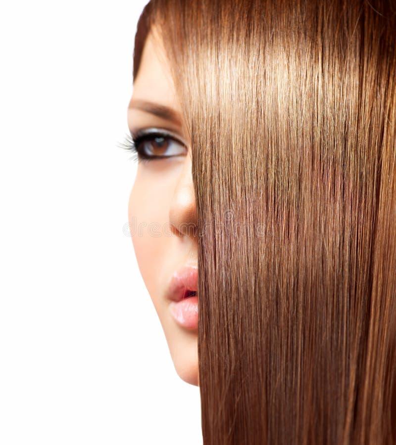 Healthy Long Hair stock photo