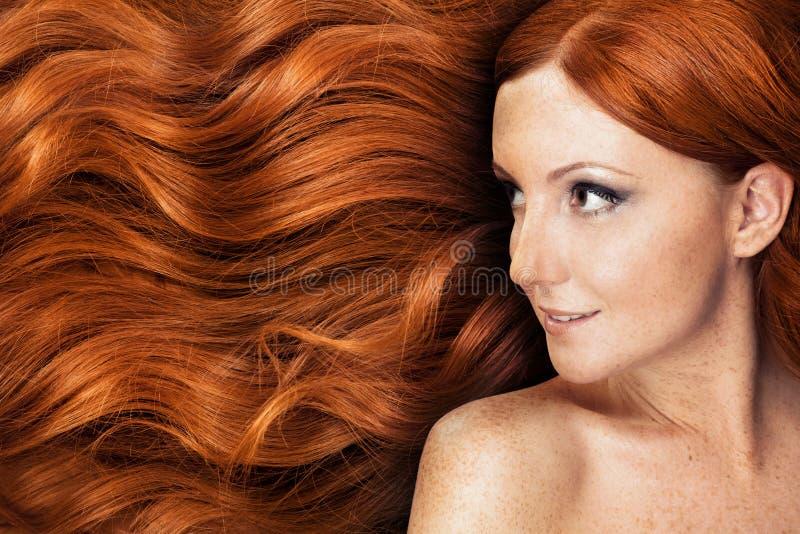 Healthy Long Hair royalty free stock photos