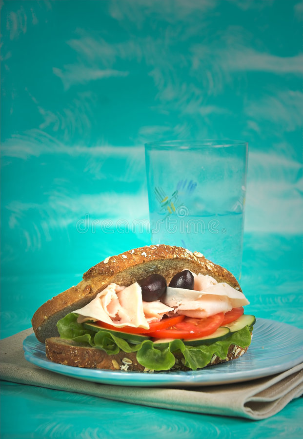 Healthy lunch stock images