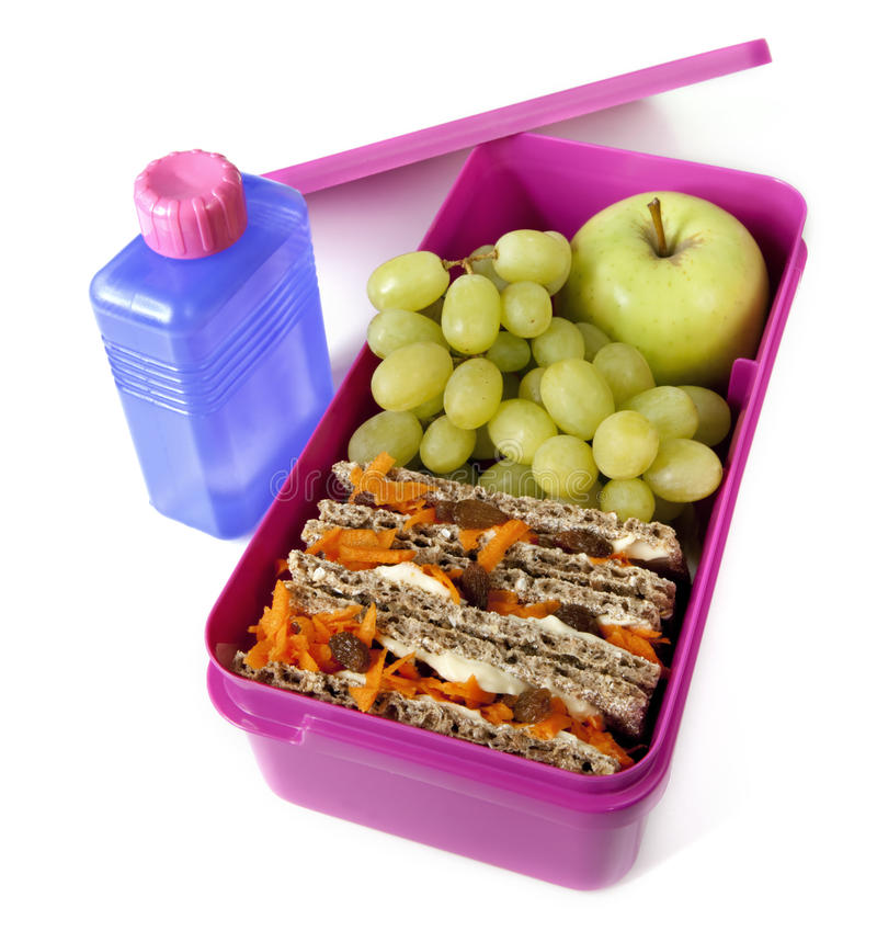 Download Healthy Lunch Box stock image. Image of delicious, eating - 14856607