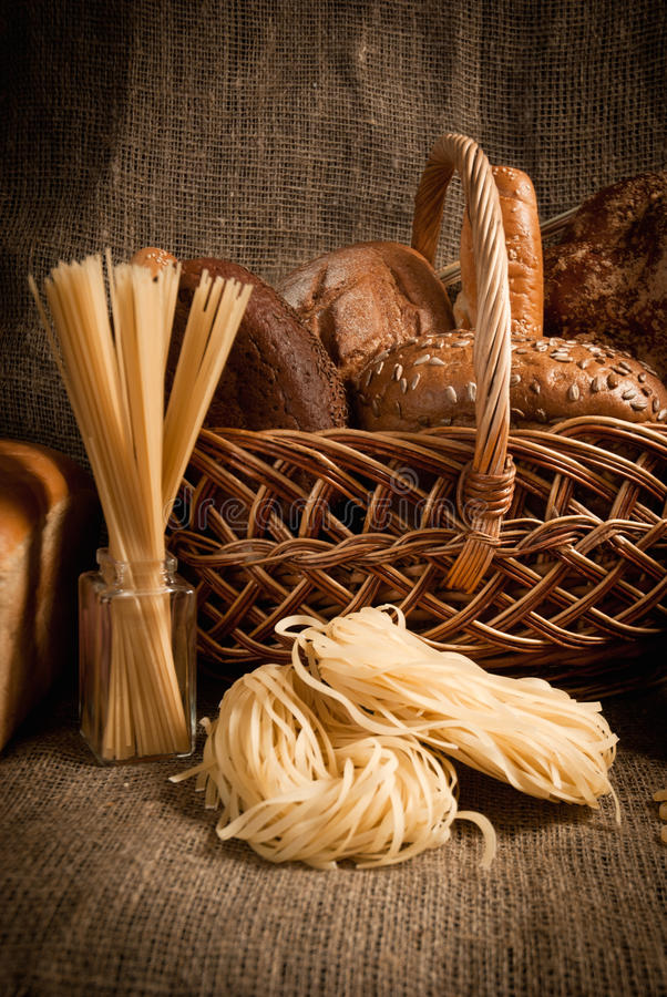 Download Healthy  Meal With Bread , Cereals Stock Image - Image: 28595263