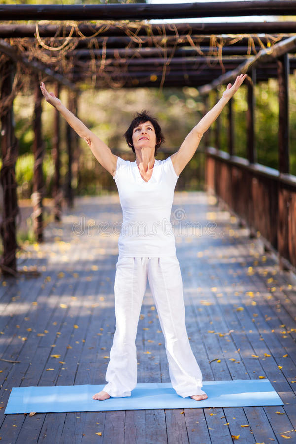 Download Healthy middle aged woman stock photo. Image of copy - 26878298