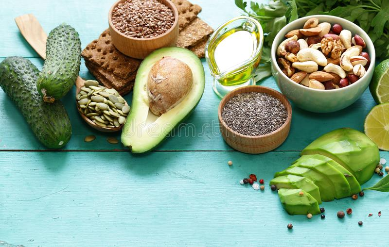 Healthy and nutrition food royalty free stock photo