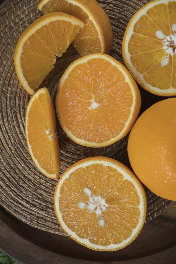 Healthy orange fruits background many orange fruits royalty free stock photography
