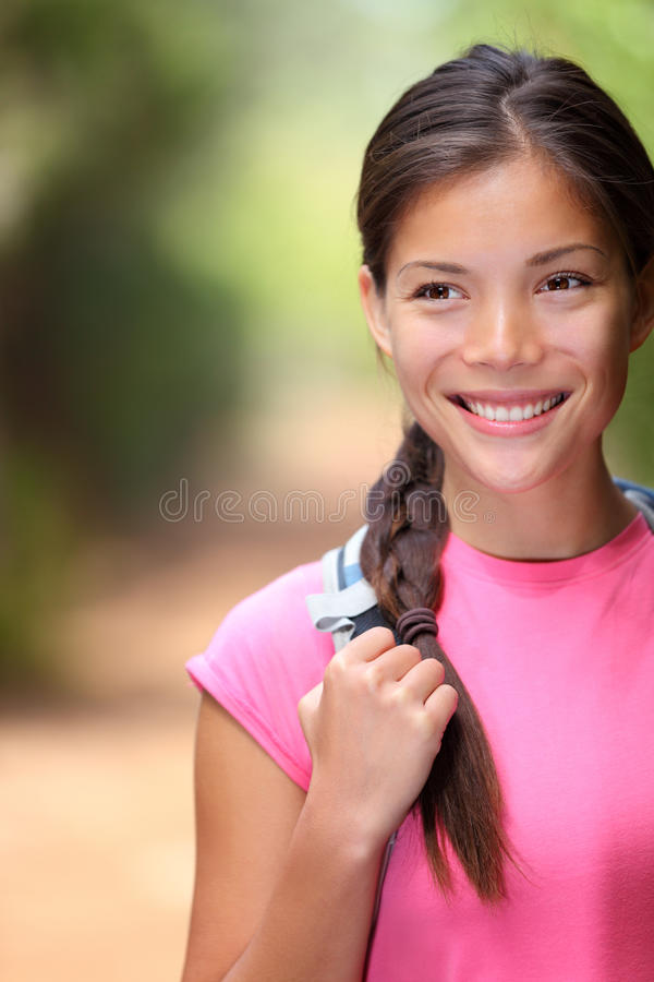 Download Healthy Outdoors Woman Hiking Royalty Free Stock Photo - Image: 20932435