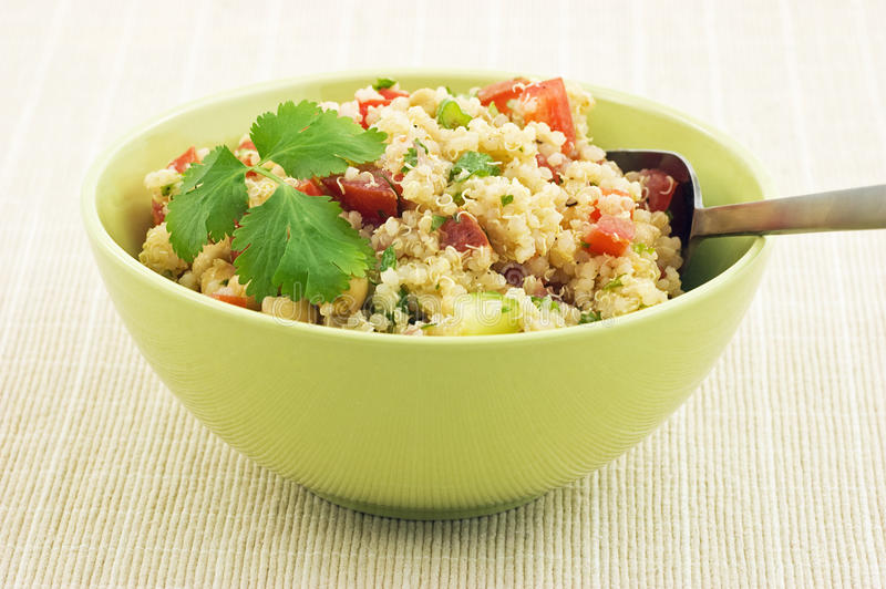Healthy Quinoa Salad Stock Photography