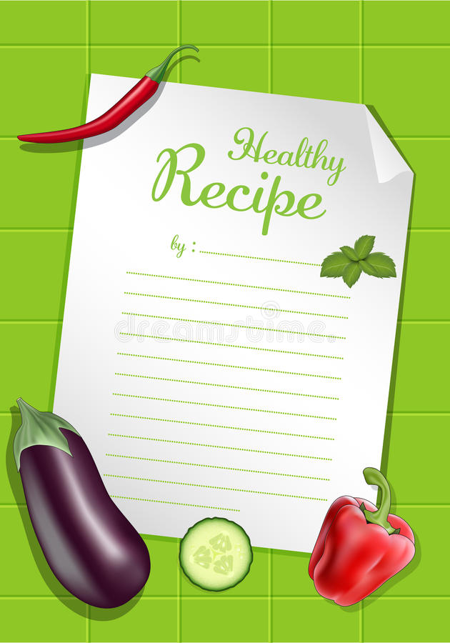 Download Healthy Recipe Royalty Free Stock Image - Image: 22604216