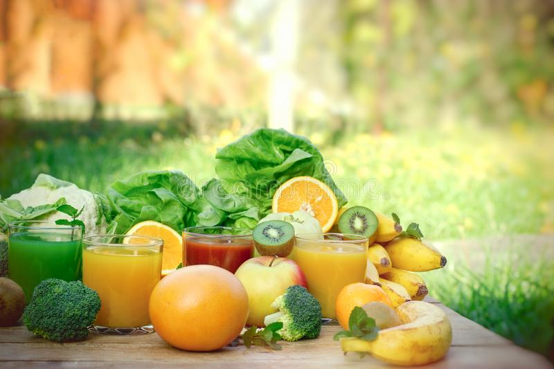 Healthy refreshing drink in hot summer, drinks, baverage organic fruit and vegetable stock photos