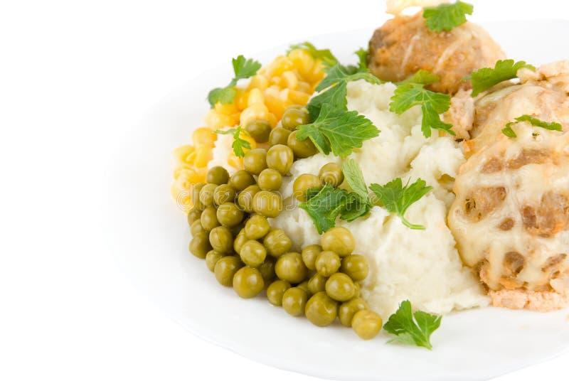 Healthy restaurant food royalty free stock photo