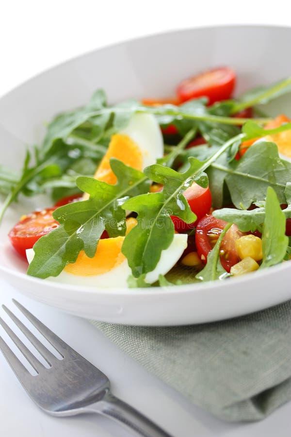 Healthy rocket salad royalty free stock images