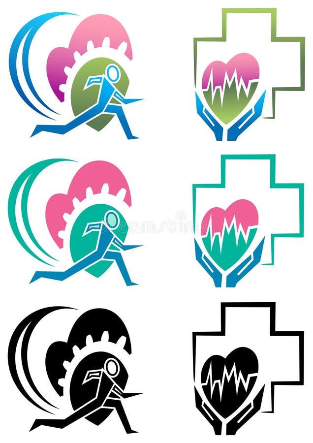 Healthy run vector illustration