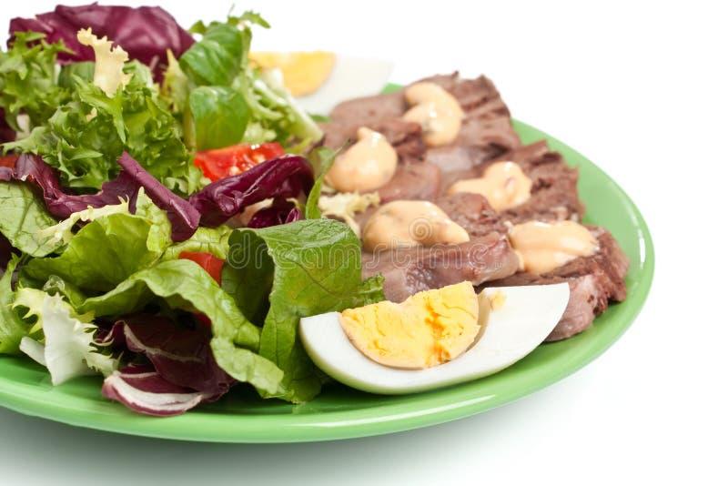 Download Healthy salad stock photo. Image of radicchio, isolated - 15955654