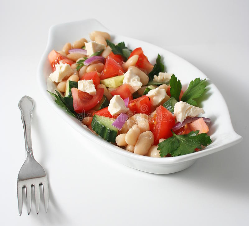 Healthy salad royalty free stock images