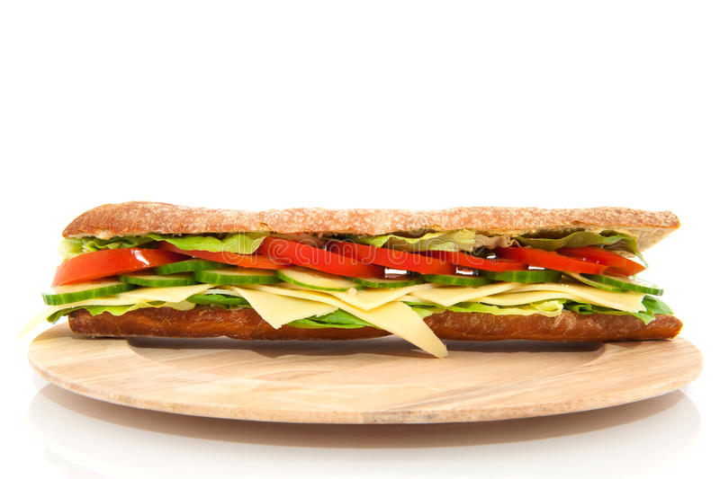 Download Healthy sandwich stock photo. Image of wooden, vegetables - 11539570