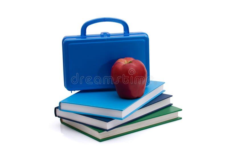 Healthy School Lunch stock image