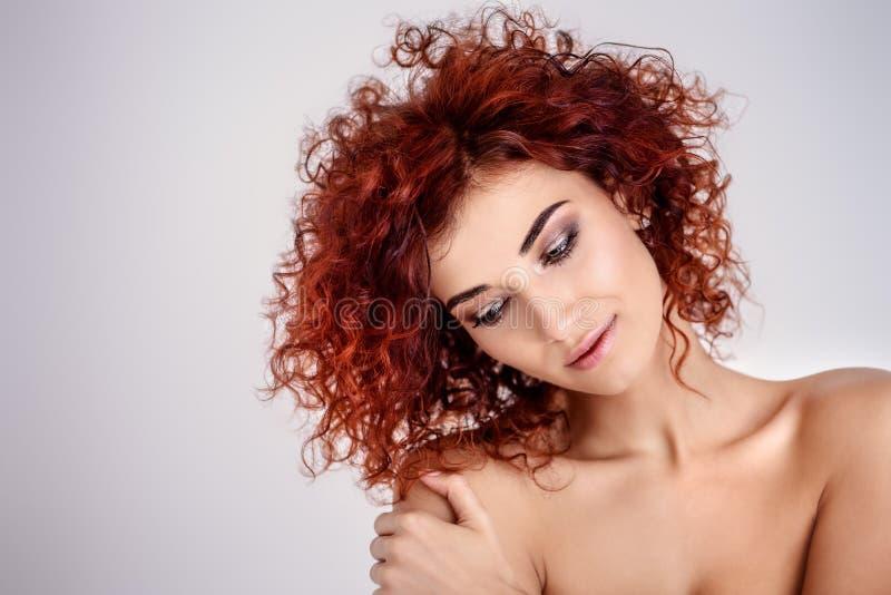 Healthy shiny skin stock photography