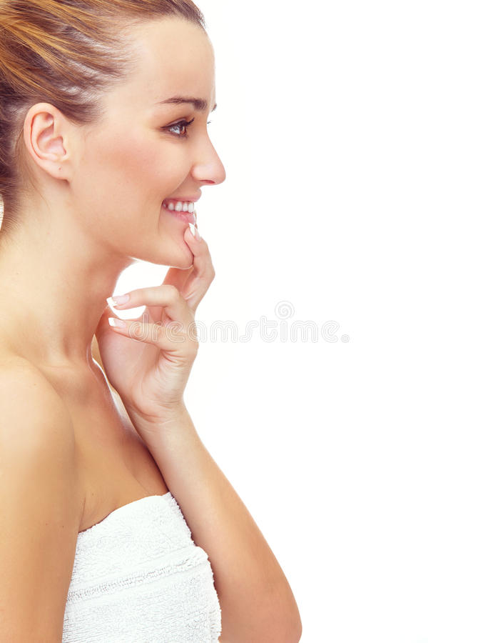 Healthy skin royalty free stock image
