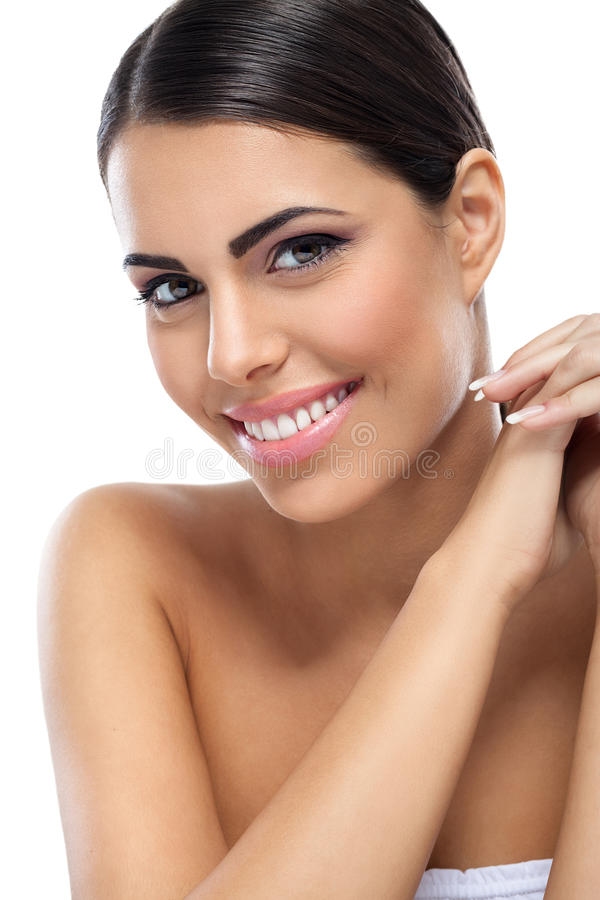 Free Healthy Smiling Beauty Woman Royalty Free Stock Photography - 33256667