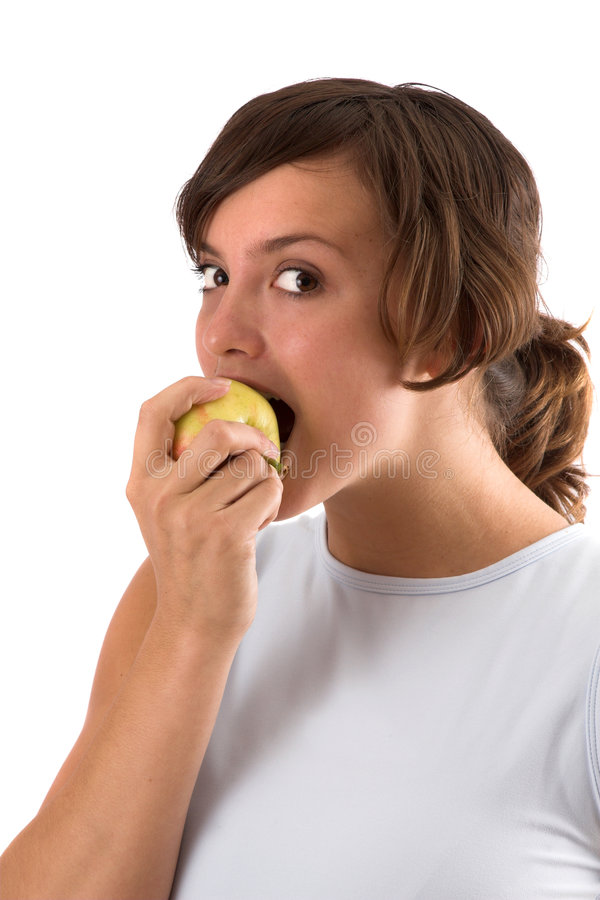 Download Healthy snack stock photo. Image of girl, weightcare, natural - 1401168