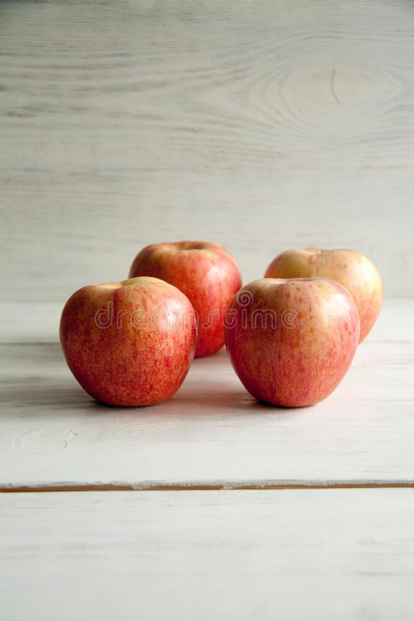 Fresh big apples. Healthy snack for every day: big apples royalty free stock photography