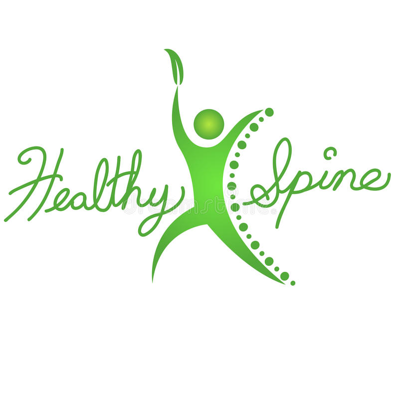 Healthy Spine Icon vector illustration