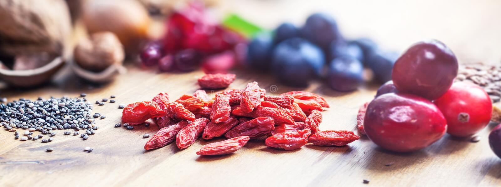 Healthy Superfood stock photography