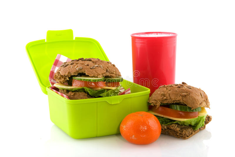 Healthy take away lunch box