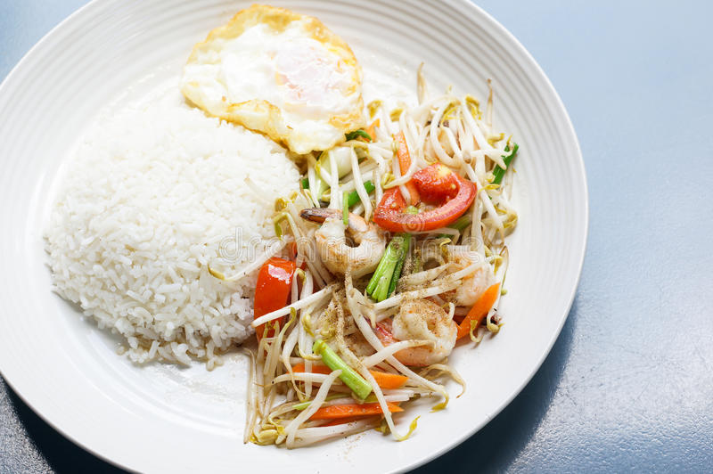 Download Healthy thai food stock image. Image of lunch, cuisine - 33166925