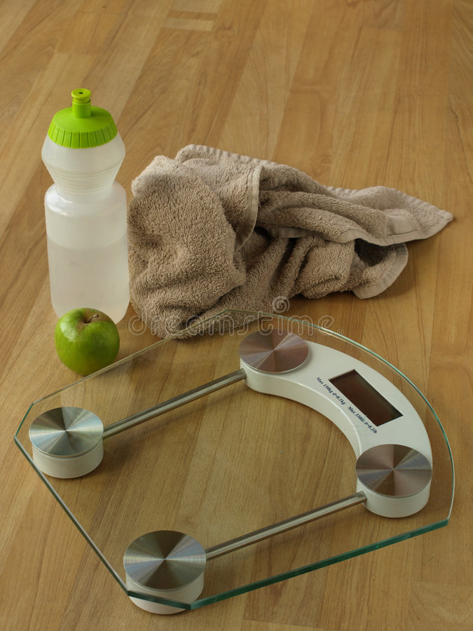 Healthy weight loss stock photography