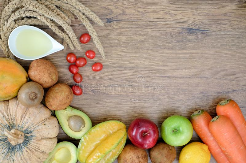 Healthy wellbeing Ketogenic diet healthy Vegetable diet nutrition and medication royalty free stock photography