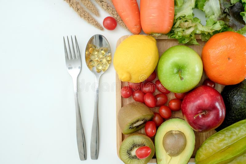 Healthy wellbeing Ketogenic diet healthy Vegetable diet nutrition and medication royalty free stock images
