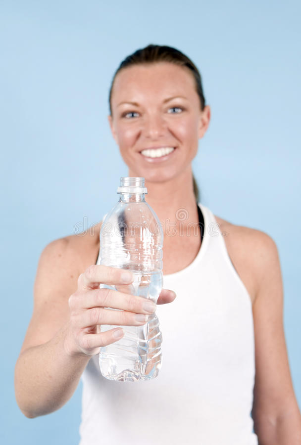 Download Healthy woman stock photo. Image of glass, live, drink - 10143520