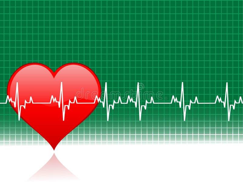 healty сердце иллюстрация вектора