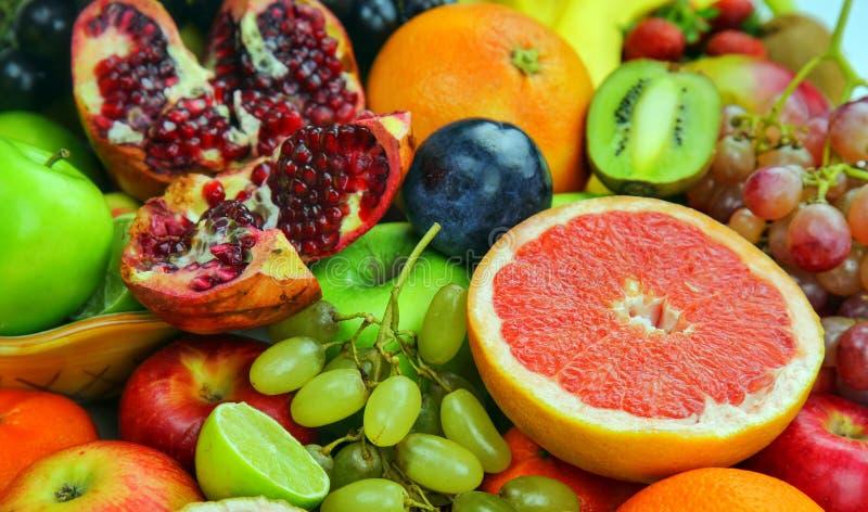 Healty Organische Mengeling van Vruchten Samenstelling royalty-vrije stock afbeeldingen