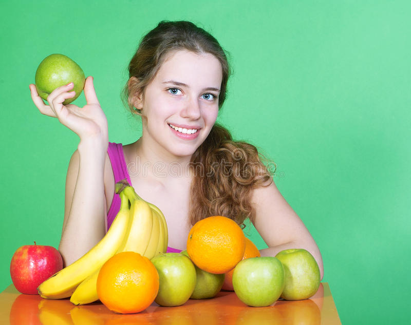 Download Healty woman stock photo. Image of lifestyle, color, copy - 13431968