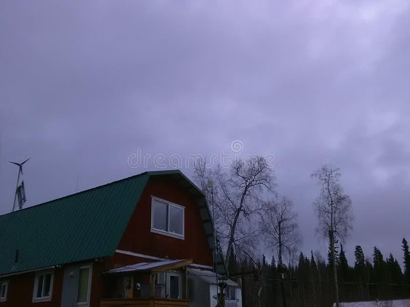 Healy jezioro Alaska zdjęcia stock