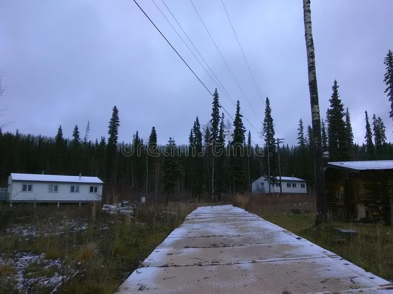 Healy jezioro Alaska obraz royalty free