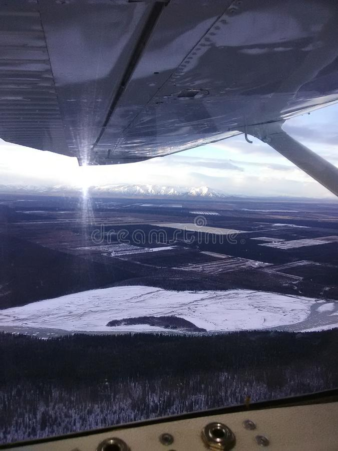 Healy See Alaska stockfotografie