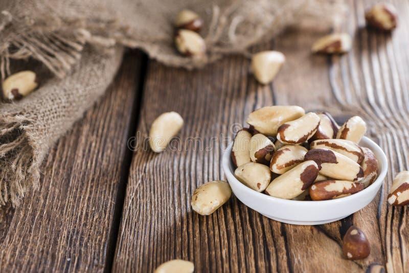 Heap of Brazil Nuts royalty free stock photo