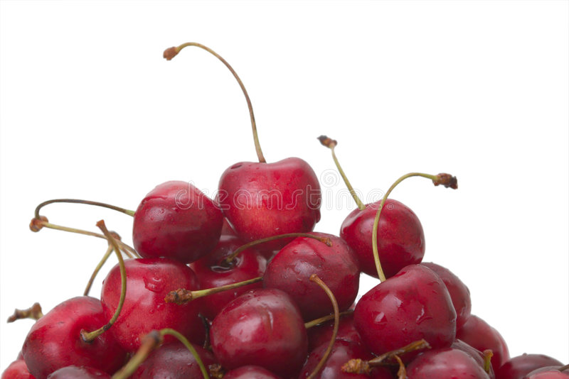Download Heap of cherries stock photo. Image of delicious, ingredient - 5961170