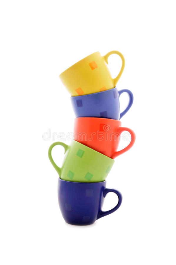 Download Heap of cups stock image. Image of dishware, arrangement - 14572699