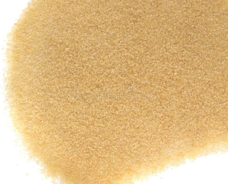 Heap of Dry Small Gelatine Granules or Powder. Gelling Agent for Food and Photography stock photos