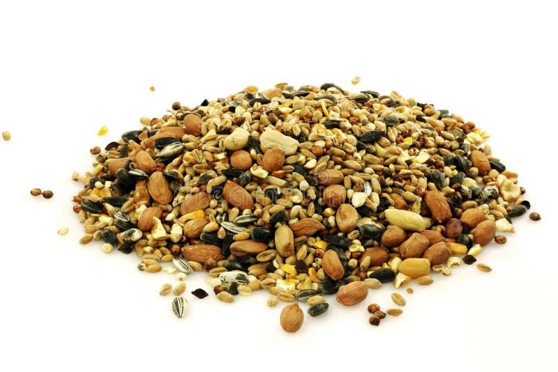Heap of mixed bird feed